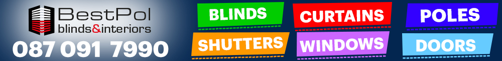 BestPol Blinds Ireland - Windows, doors, shutters, blinds, curtains Logo